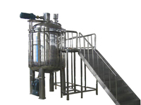 MT-2500 liquid creams vacuum emulsifying mixing tank