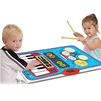 more images of Zippy Mat 2 in 1 Playmat with Piano & Drumset