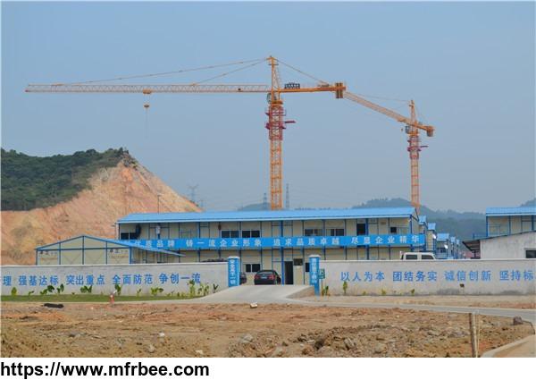 Qtz80(tc5611) Topkit Tower Crane Maxload 6t Maxjib Length