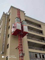 2.7Tons capacity high speed Height Building Construction Crane Hoist