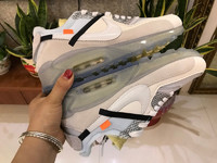 NIKE x OFF-WHITE AIR MAX 90 OFW with white
