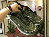 Undefeated x Nike Air Max 97 in Green nike shoes for running