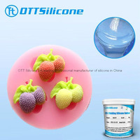 Two Parts Liquid Addition Cure Silicone Rubber for Food Grade Molds