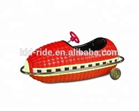 Amusement park battery operated electric music corn kiddie rides car from China supplier
