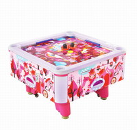 New design  indoor arcade amuesement 4 players cubic air hockey  tables electronic game machine