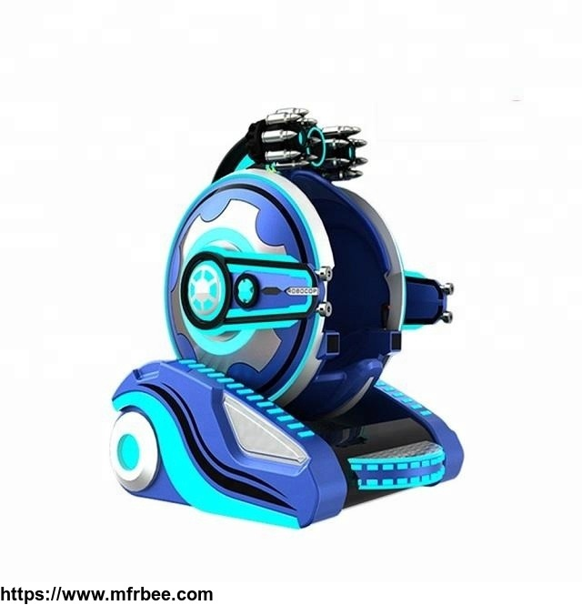 Amusement  park appearance patent robot kids rides fiberglass laser fighting walking robots
