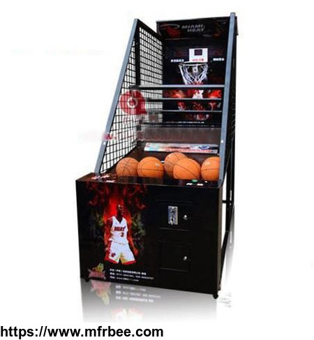 Shopping malll coin operated virtual reality luxury  basketball arcade game machine for adults