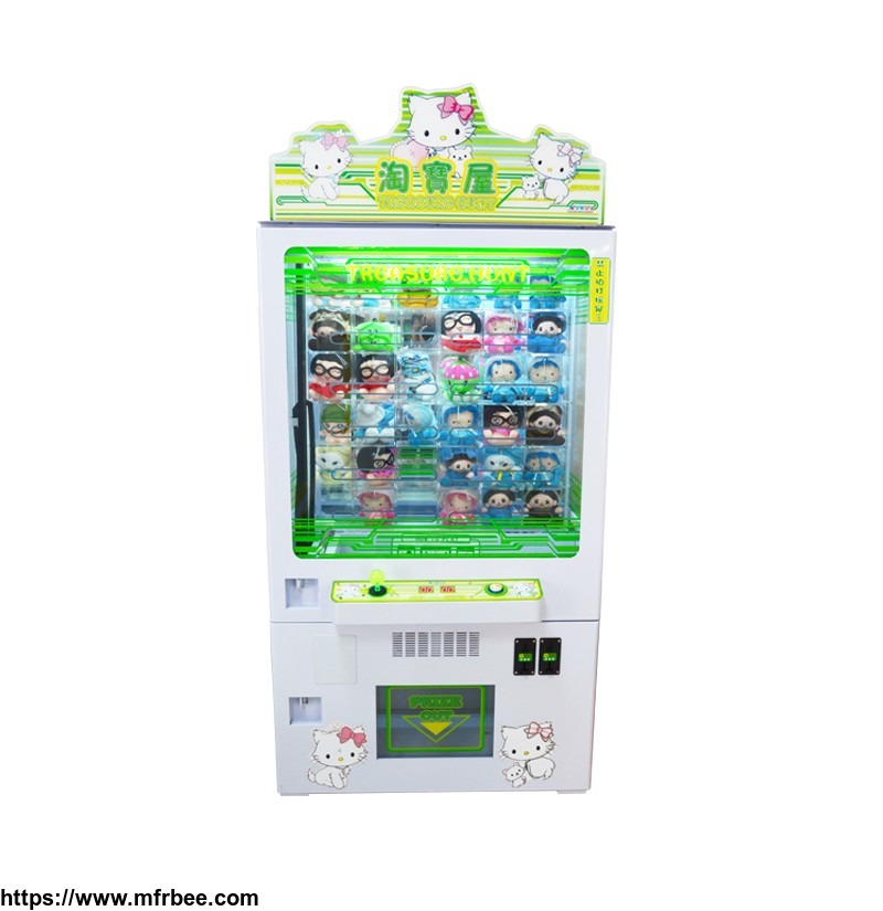 Hot selling indoor coin operated arcade claw game machine catching toys machine with music