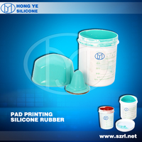 HY-901 RTV-2 Silicone Rubber For Pad Printing