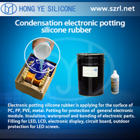 HY-210 Condensation Cure Electronic Potting Silicone Rubber