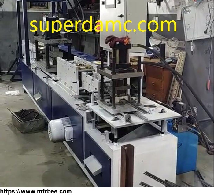 superda_machine_electrical_switch_mounting_rack_rail_din_rail_roll_forming_machine