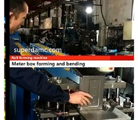 New design galvanized steel meter box roll forming machine production line.