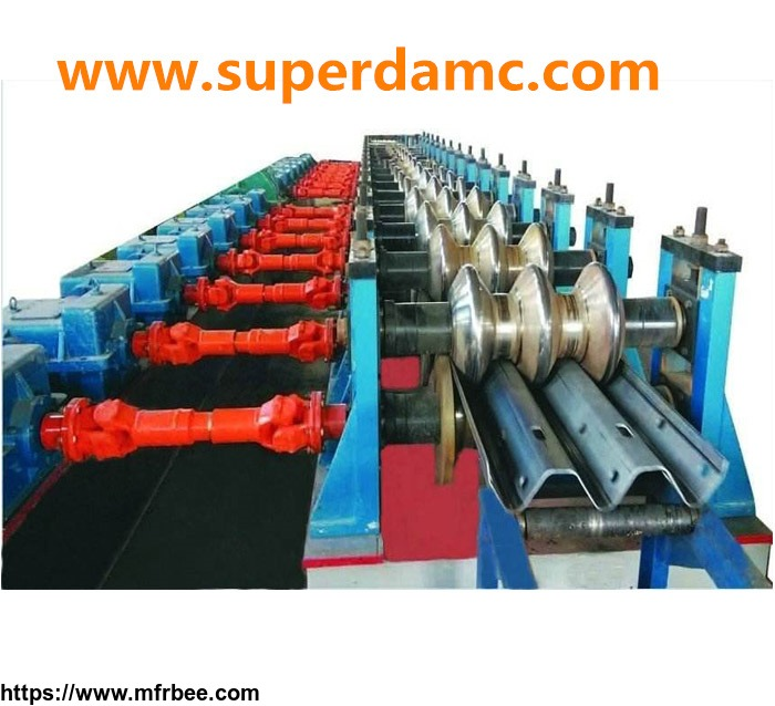 three_wave_guard_rail_roll_forming_machine_for_highway_fence