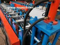 Custom roll forming machine for construction material steel edge