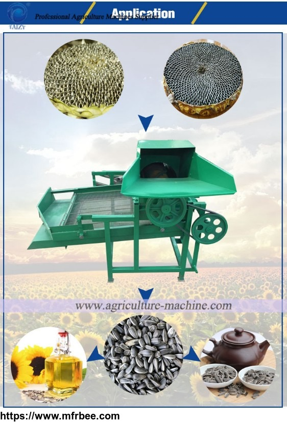 Sunflower thresher price