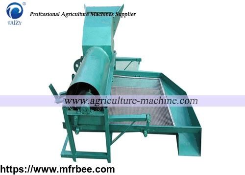 Oil sunflower thresher