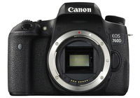 Canon EOS 760D DSLR Body (Rebel T6s) (IndoElectronic)