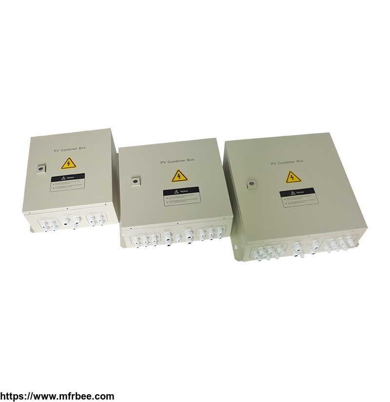 ip65_rated_solar_array_dc_combiner_box_with_anti_reverse_current_diodes_and_surge_protection_device
