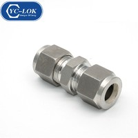 High quality straight tube fitting stainless steel with low price