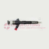 auto parts fuel injectors denso common rail diesel injector 095000-7761 for toyota