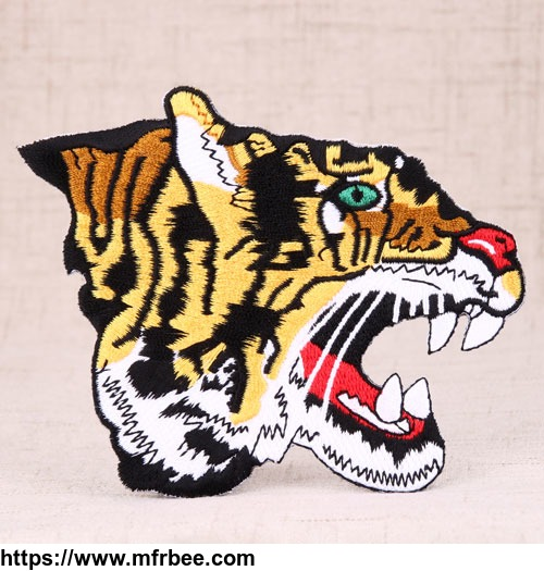 tiger_custom_patches_for_clothes