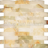 natural stone mosaic tile sheets C6G012