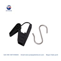 DWC drop wire clamp with s hook