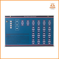 2-18 Zones Fire Alarm Control Panel for Conventional Fire Alarm System