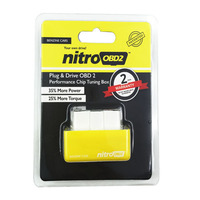 Plug and Drive NitroOBD2 Chip Tuning Box for Benzine Cars