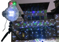 2 in 1 functions laser Christmas lights and snowfall light projector for 2018 Christmas season