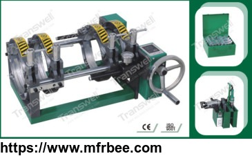 CHHJ-160SA MANUAL BUTT FUSION MACHINE 2200W WELDING JOINTING MACHINES SUPPLIER OF 50-160MM PE PE PLASTIC PIPES
