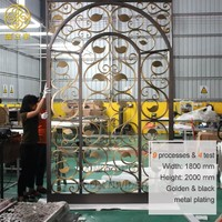 more images of Customized Decorative Stainless Steel Hotel Room Divider Screen