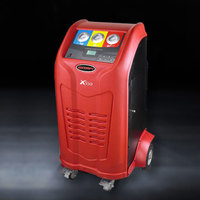 Automatic air condition gas R134A recovery and recycle machine for trucks