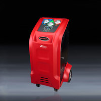 more images of Full automatic red color AC flushing machine with observation windows