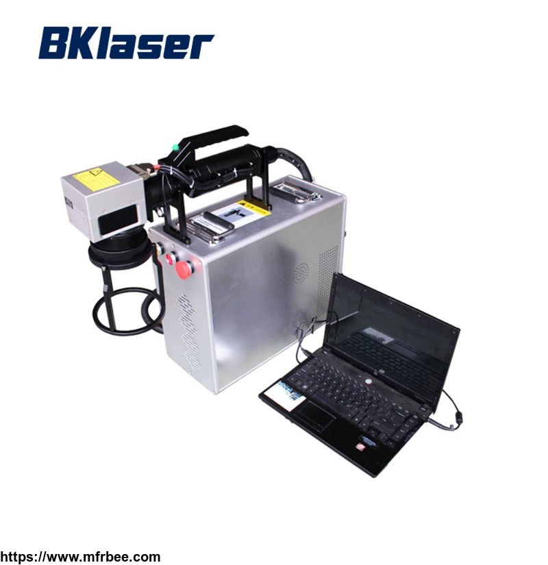 10W 15W 20W 30W Portable Mini Ipg Fiber Laser Marking Machine for Metal and Plastic