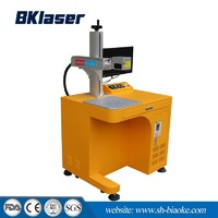 20W 30W Portable Mopa Color Fiber Laser Marking Machine for Aluminum Black