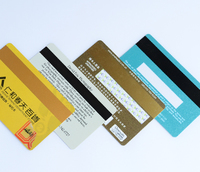 Embossing Mini size PVC Hico/loco magnetic cards