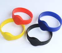 Special color Silicone wristbands with bracelet round head