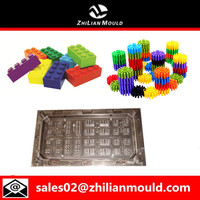 plastic lego brick injection mould