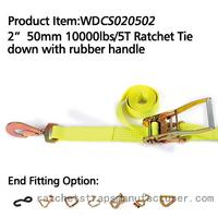 "WDCS020502 2"" 50mm 10000lbs Ratchet Tie down high quaility"