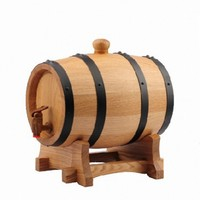 different size/capacity oak wine barrel