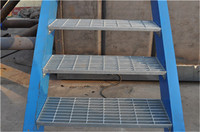bolt fixed T2/T4 light steel stair treads