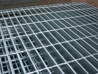 rectangular ASTM A 1011 30×100mm pitch commercial steel grating