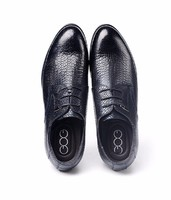 Gentleman leisure Height Increasing Elevator Shoes Leather Oxfords Derby Shoes