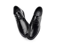 Men Elevator Height Increasing Shoes 2.36'' Taller Lace up Oxfords Dress Shoes
