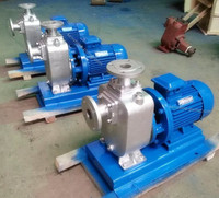 ZX horizontal self priming centrifugal pump