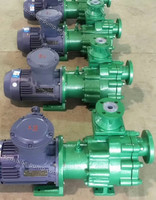 ZMD Fluoroplastic liner self priming magnetic pump