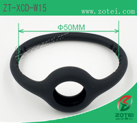 RFID circular ring silicone wristband (Φ50mm, Product model:ZT-XCD-W15)