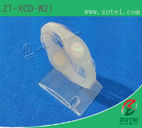 RFID dual-ended silicone wristband (Φ55mm, Product model:ZT-XCD-W21)
