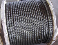 Steel Wire Rope(Ungalvanized and Galvanized) From China with ISO9001